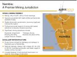 namibia a premier mining jurisdiction