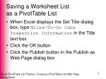 saving a worksheet list as a pivottable list4