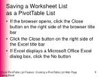 saving a worksheet list as a pivottable list5