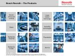 bosch rexroth the products