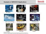 examples of sercos iii applications