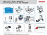 sercos iii the next generation rexroth system products with sercos iii