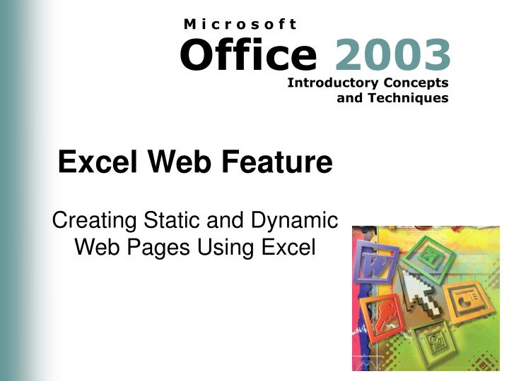 excel web feature n.