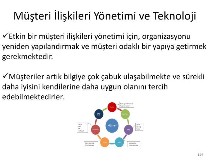 Müşteri İlişkileri Yönetimi ve Teknoloji