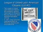 league of united latin american citizens lulac