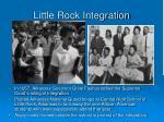 little rock integration