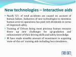 n ew technologies interactive aids