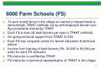 6000 farm schools fs