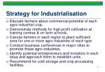 strategy for industrialisation