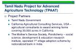 tamil nadu project for advanced agriculture technology tpaat