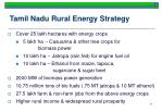 tamil nadu rural energy strategy