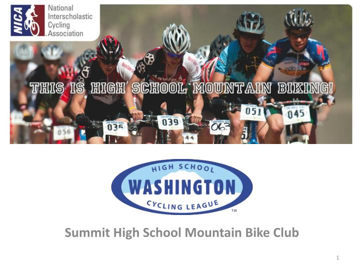 summit high school mountain bike club n.
