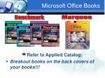 microsoft office books