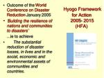 hyogo framework for action 2005 2015 hfa
