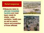 relief response