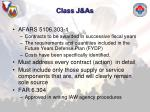 class j as