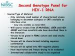 second genotype panel for hiv 1 rna1