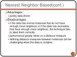 nearest neighbor based cont1