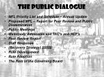 the public dialogue