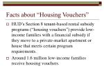 facts about housing vouchers