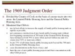 the 1969 judgment order