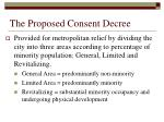 the proposed consent decree