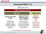 honeywell fm t llc