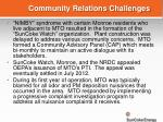 community relations challenges