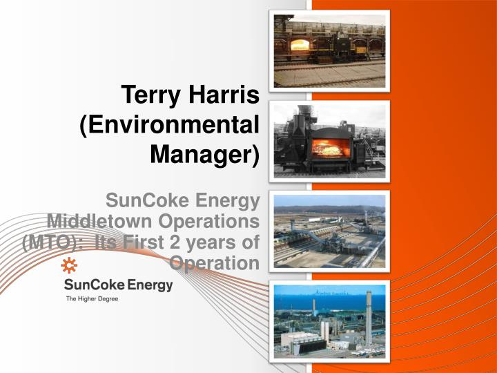 terry harris environmental manager n.