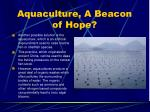 aquaculture a beacon of hope