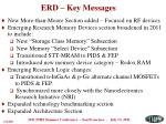 erd key messages