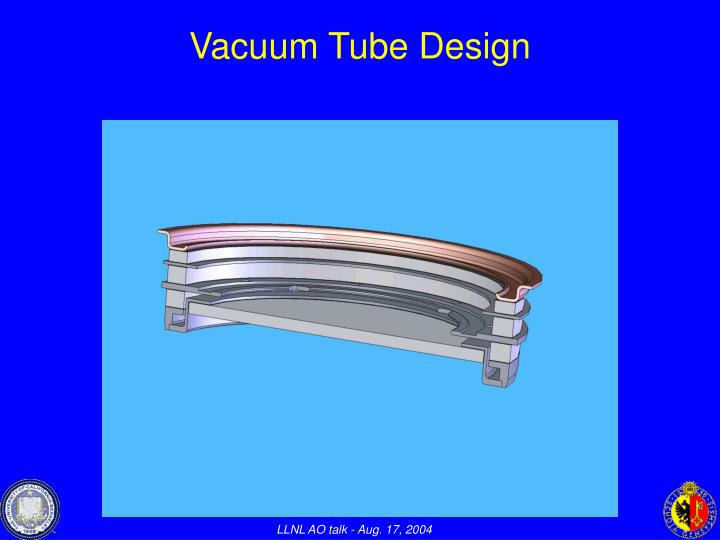 Vacuum Tube Design