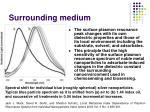 surrounding medium