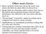 other asset classes