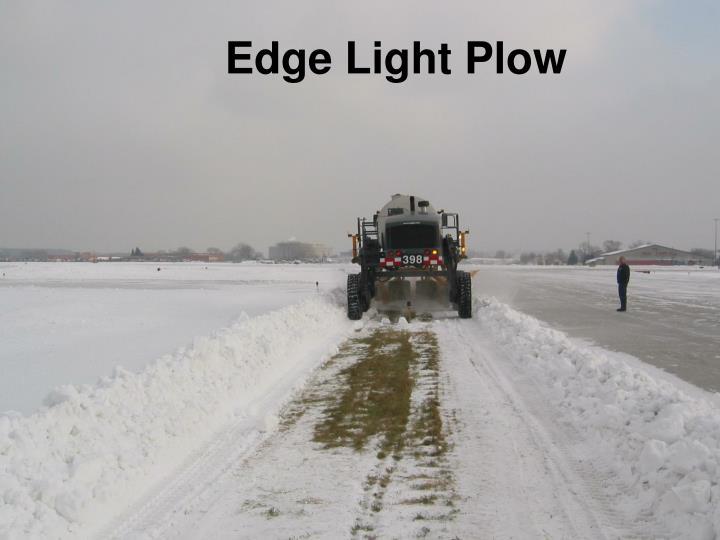 Edge Light Plow