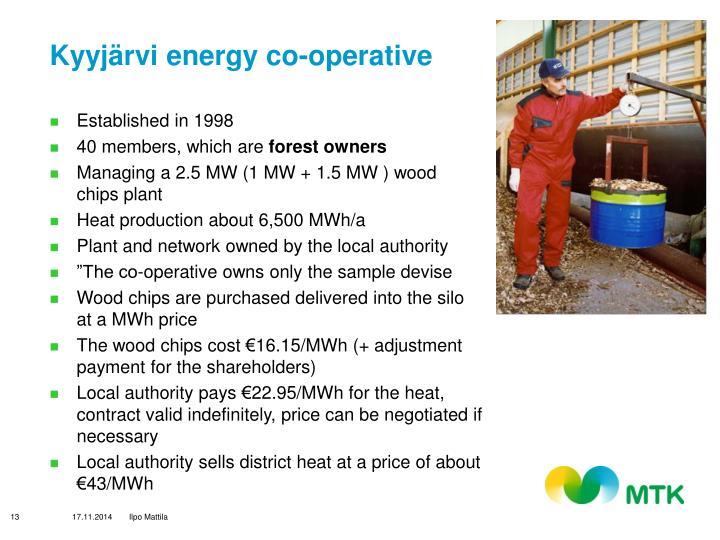 Kyyjärvi energy co-operative