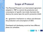 scope of protocol