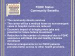 fqhc status community benefits