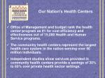 our nation s health centers