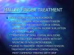 mallet finger treatment