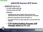 useucom exercise jetp issues