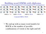building word hmms with diphones1