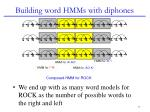 building word hmms with diphones4