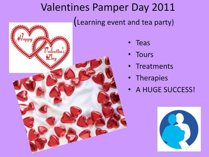 Valentines Pamper Day 2011