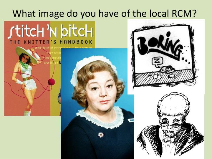 What image do you have of the local rcm