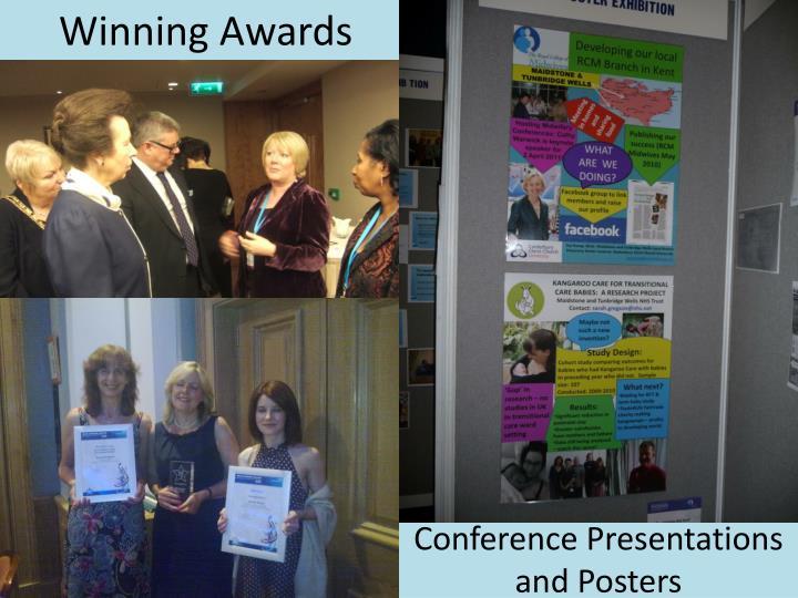 Winning Awards