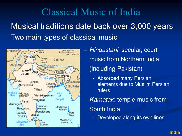 classical music of india n.