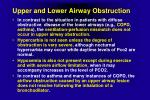 upper and lower airway obstruction1