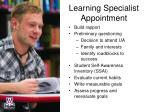 learning specialist appointment3
