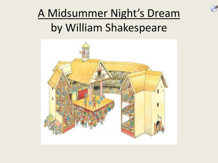 a midsummer night s dream by william shakespeare n.